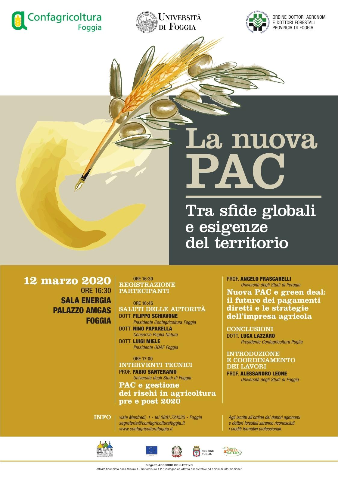 La nuova PAC: tra sfide globali e esigenze del territorio
