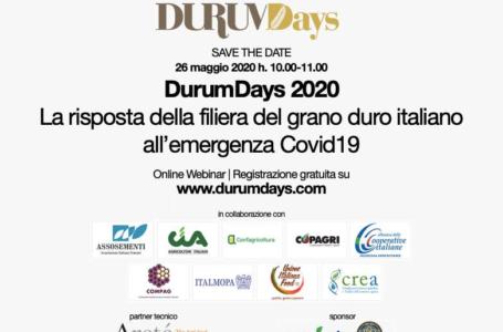 Durum Days 2020 – 26 maggio ore 10.00 (webinar)