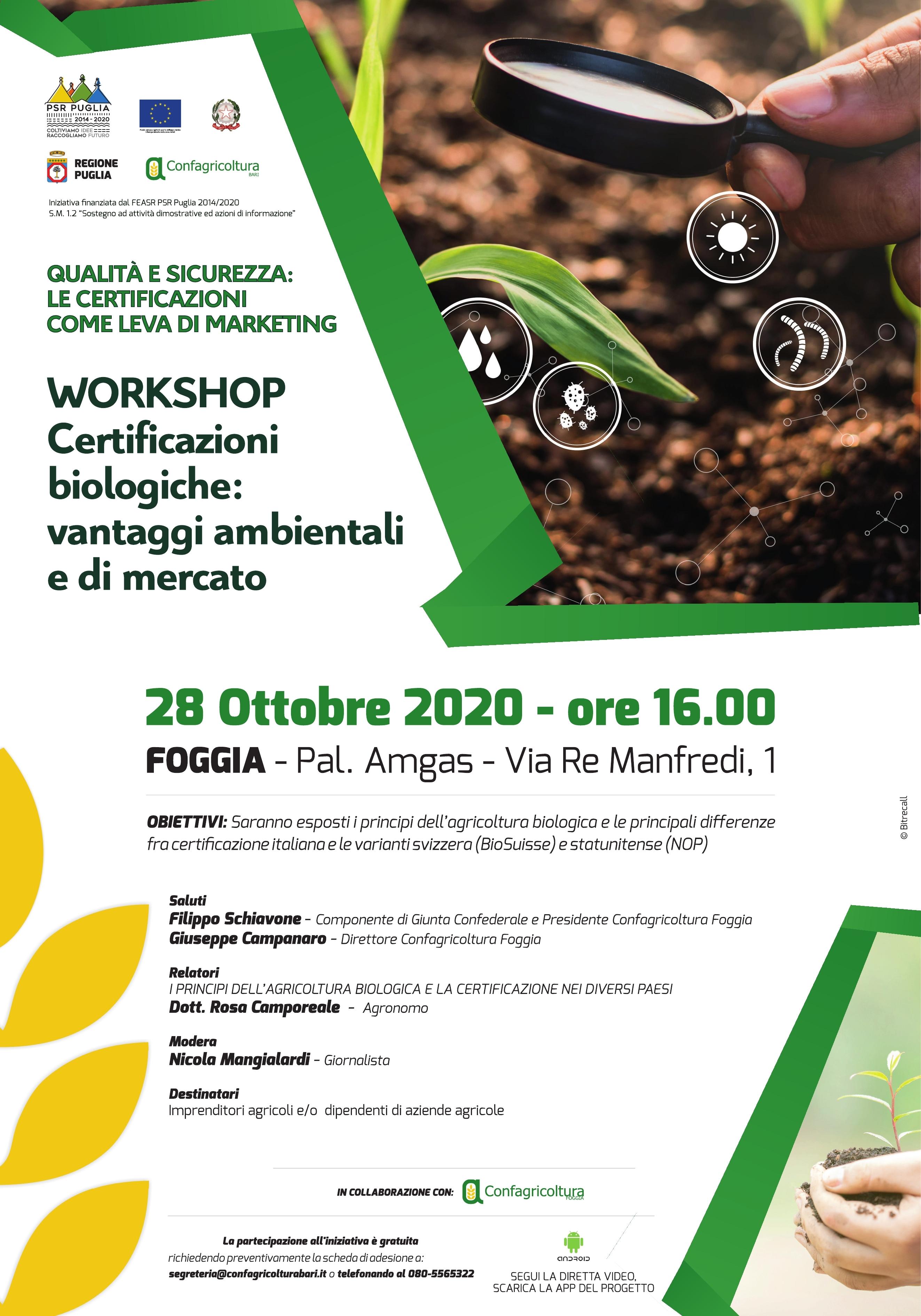 Certificazioni biologiche: vantaggi ambientali e di mercato